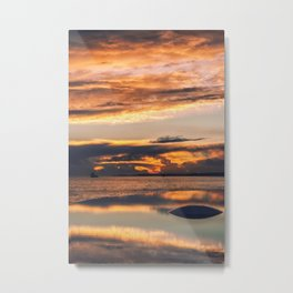 Sunset from the Champalimaud Foundation Metal Print