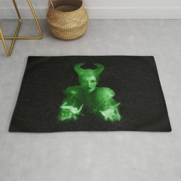 Maleficent's Evil Spell / Sleeping Beauty Rug