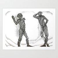 oxygene Art Print