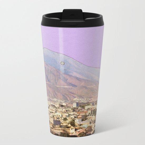 Lilac Skies Metal Travel Mug