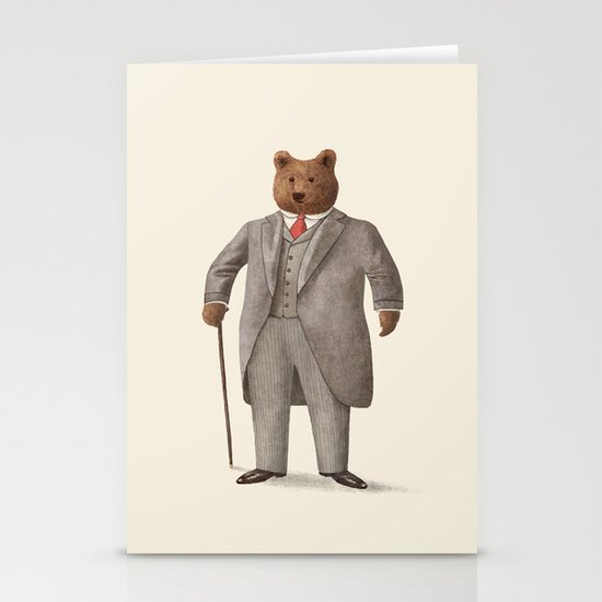 Mr. Bear Stationery Cards