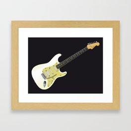 Solid Electric Framed Art Print