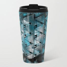 TriangleTracts Full Bleed... Metal Travel Mug