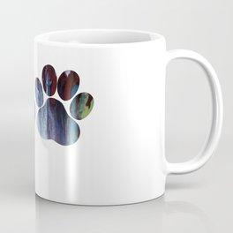 Dog Paw Prints Coffee Mug