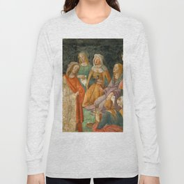 "Sandro Botticelli ""A young man introduced to the Liberal Arts"" Long Sleeve T-shirt"