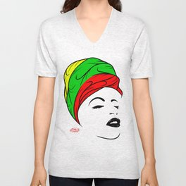 Lady Wrap Unisex V-Neck