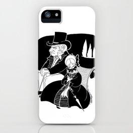 M. Leblanc et Mlle. Lanoire iPhone Case