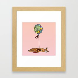 GET WELL SOON Framed Art Print