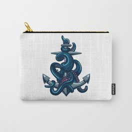 Octopus and Anchor Carry-All Pouch