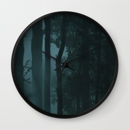 In a magical woods Wall Clock