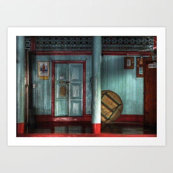 Mae Hong Son - Thailand Art Print