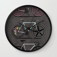 brompton Wall Clocks featuring This Is How I Roll by Wyatt Design