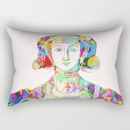 Anne of Cleves Rectangular Pillow