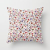 constellations Throw Pillows featuring Constellations by Ninola
