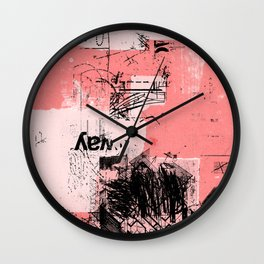 misprint 80 Wall Clock