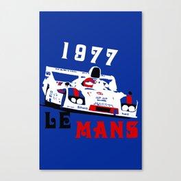 1977 Martini Porsche 917 24 Hours of Le Mans Canvas Print