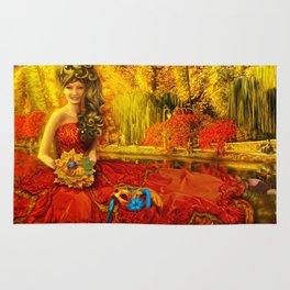 Autumn carnival Rug