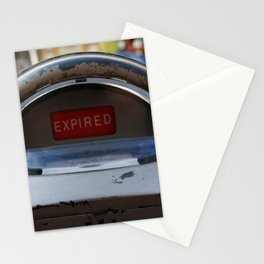 Expired Stationery Cards