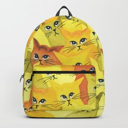 Yellowstone Whimsical Cats Backpack