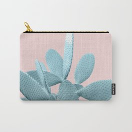 Blush Cactus #1 #plant #decor #art #society6 Carry-All Pouch