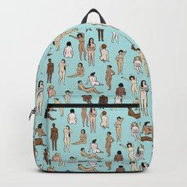 Nudes - Blue Backpack