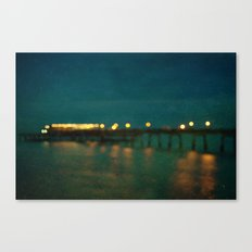 Deal After Sunset Canvas Print