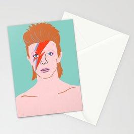 Bowie Ziggy Star Dust Stationery Cards