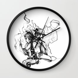 Mafia Wall Clock