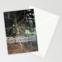 picket fence (03-15) Stationery Cards