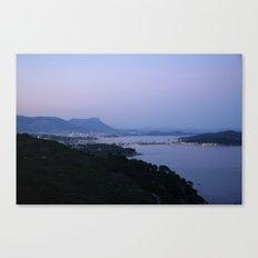 Evening Harbor 4423 Canvas Print