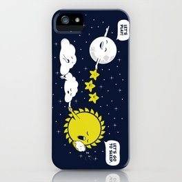 Night time, Day time iPhone Case