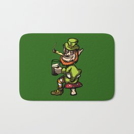Wasted Leprechaun Bath Mat