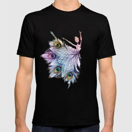 Peacock Dancer T-shirt