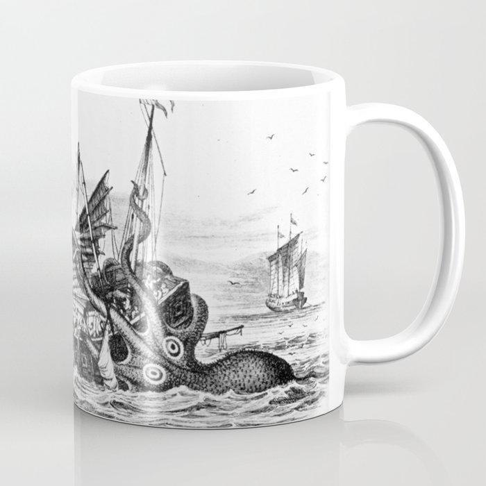 1810 Vintage Nautical Octopus Steampunk Kraken Sea Monster