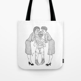 The Defamation of Normal Rockwell II (NSFW) Tote Bag