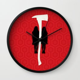 Forever & ever & ever Wall Clock