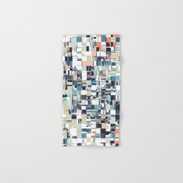 Abstract Jumbled Mosaic Hand & Bath Towel
