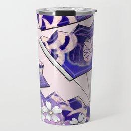Japanese Fans Traditional Travel Mug