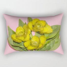 Daffo-dills Pickle Bouquet Rectangular Pillow