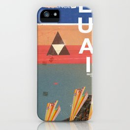 Education - prepare for your mind to be blown iPhone Case