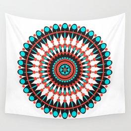 Native American Mandala Wall Tapestry