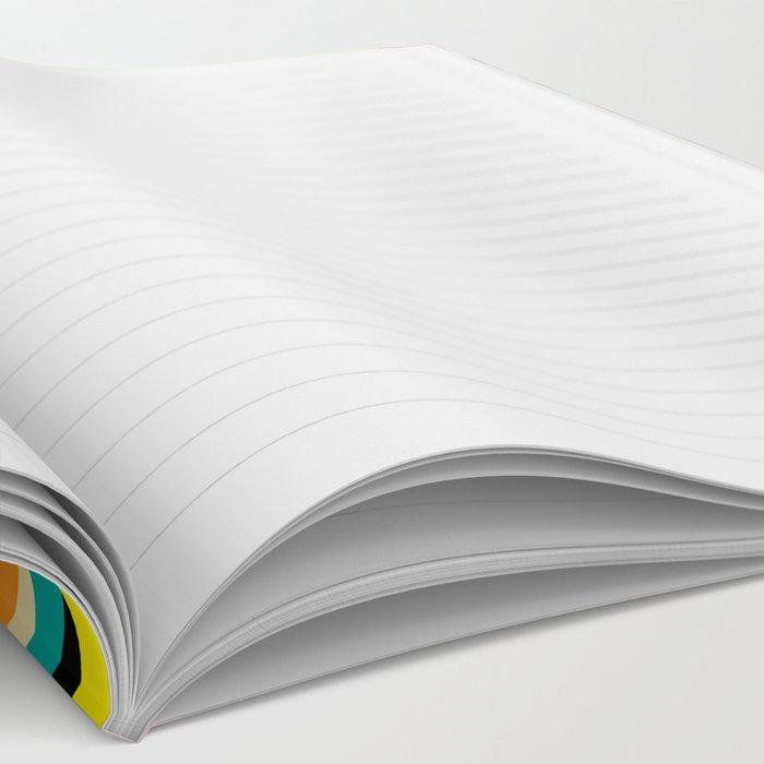 Ripple pattern Notebook