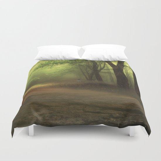Mystical Forest (3) Duvet Cover