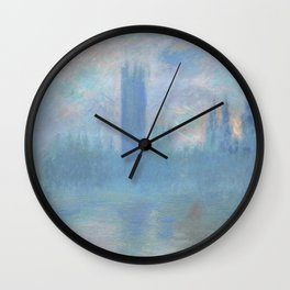 Monet, The Houses of Parliament, London, 1900-1093 Wall Clock
