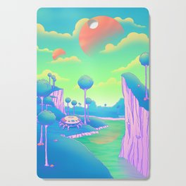 Planet Namek Cutting Board