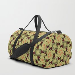 roundelay. tribal seamless pattern Duffle Bag