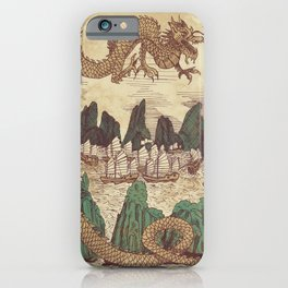 The Halong Bay Creation Myth iPhone Case