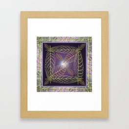 LEAVES OF THE FOUR WINDS Framed Art Print