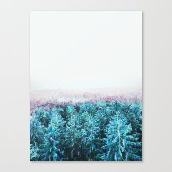 Tree Tops #society6 #buyart #decor Canvas Print