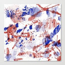 Stagnant tremors Canvas Print